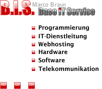 Marco Braun B.I.S. Base IT Service